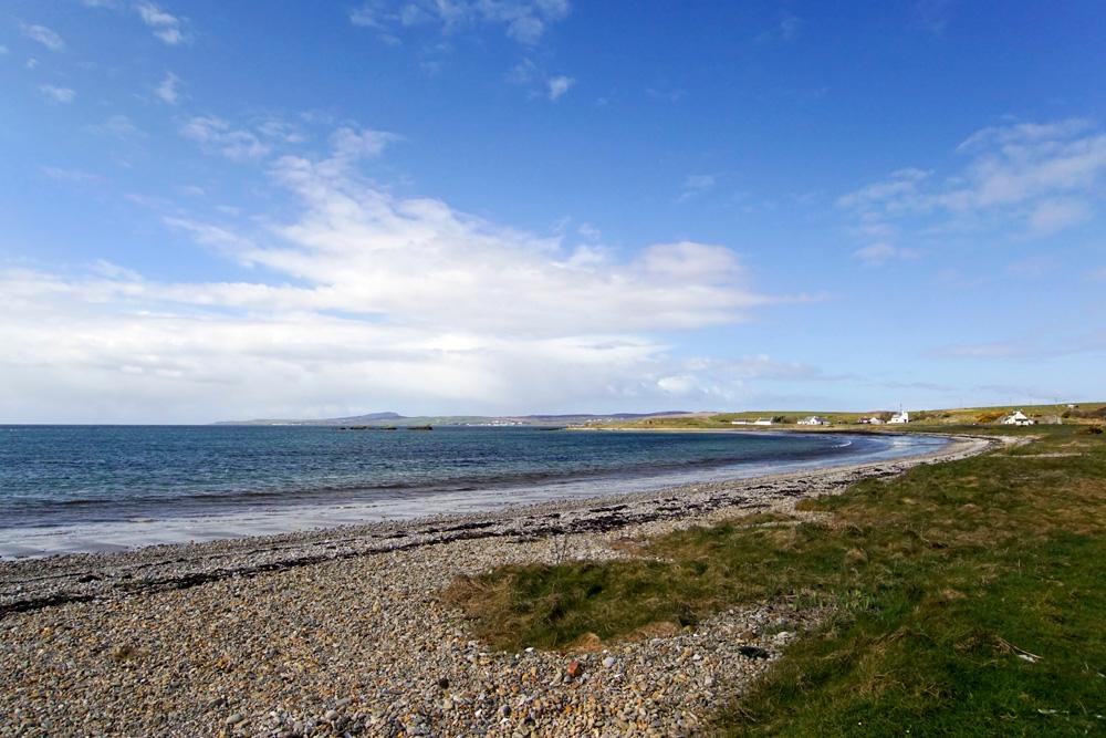 Blackrock beach on Islay, Scotland