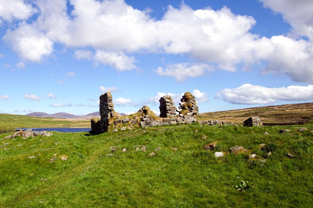 Ruins of Finlaggan on Islay