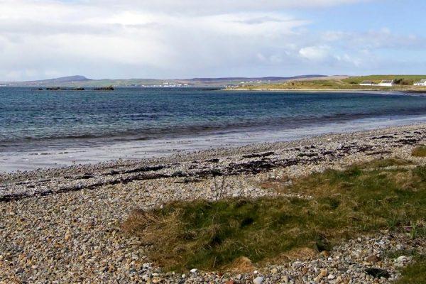 Wide beaches on Lochindaal, Islay